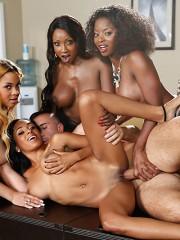 Anya Ivy, Diamond Jackson, Jade Aspen, Jasmine Webb & Keiran Lee